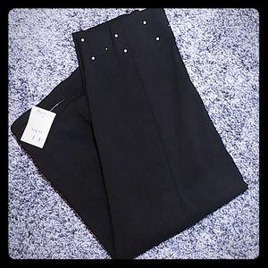 NEW Counterparts Capri Pants w/Pearls & Rivets